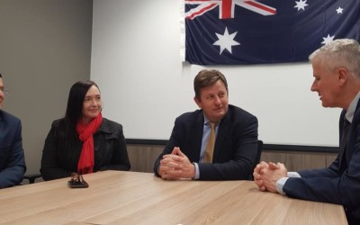 Minister McCormack expresses support for Landcare